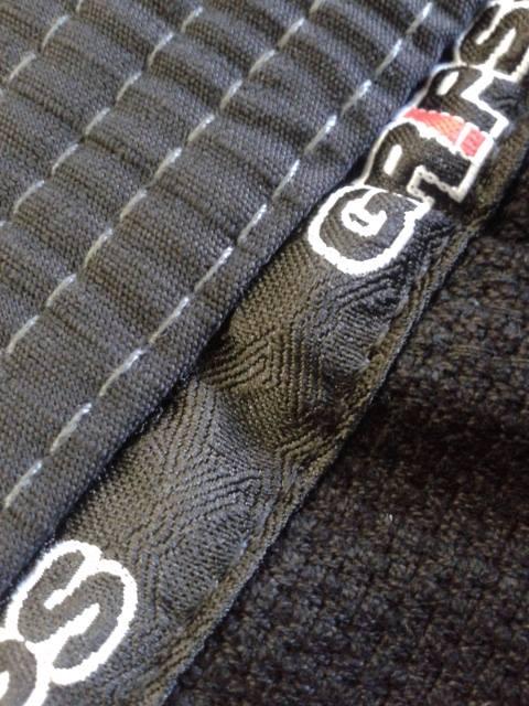 GRIPS ATHLETICS SECRET WEAPON BJJ GI 2.0 BLACK - Gi Pants Stitching Quality