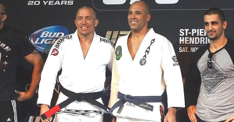 UFC Champion, Royce and GSP